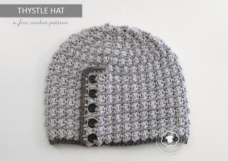 Thystle A Free Crochet Hat Pattern Noowul Oombawka Design Crochet