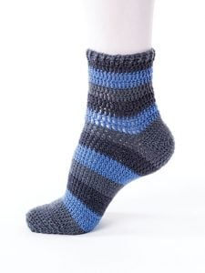 Simple Stripes - New Methods for Crochet Socks - Rohn Strong - Annie's Craft Store - Review by Oombawka Design