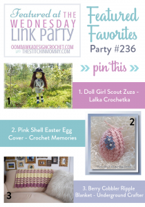 Wednesday Link Party 236 Features
