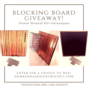 Chetnanigans BlocksAll 812 Giveaway Ends April 1 2018 Oombawka Design Crochet insta