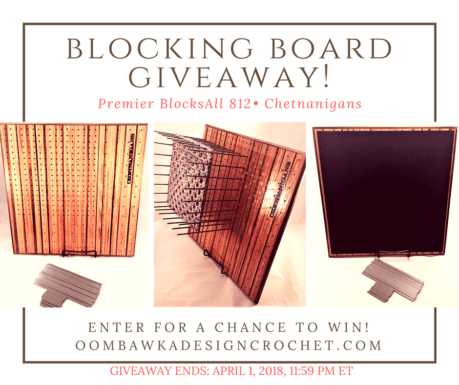 BlocksAll 812 from Chetnanigans Giveaway Ends April 1 2018 Oombawka Design Crochet