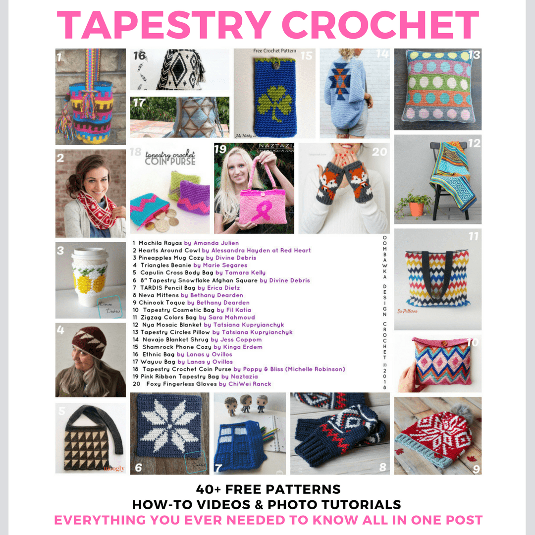 The BIG Tapestry Crochet Post - Free Patterns, Tutorials and Tools ...