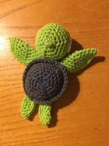 Featured at the Wednesday Link Party with Amy and Rhondda: Little Turtle - Howling at the Moon