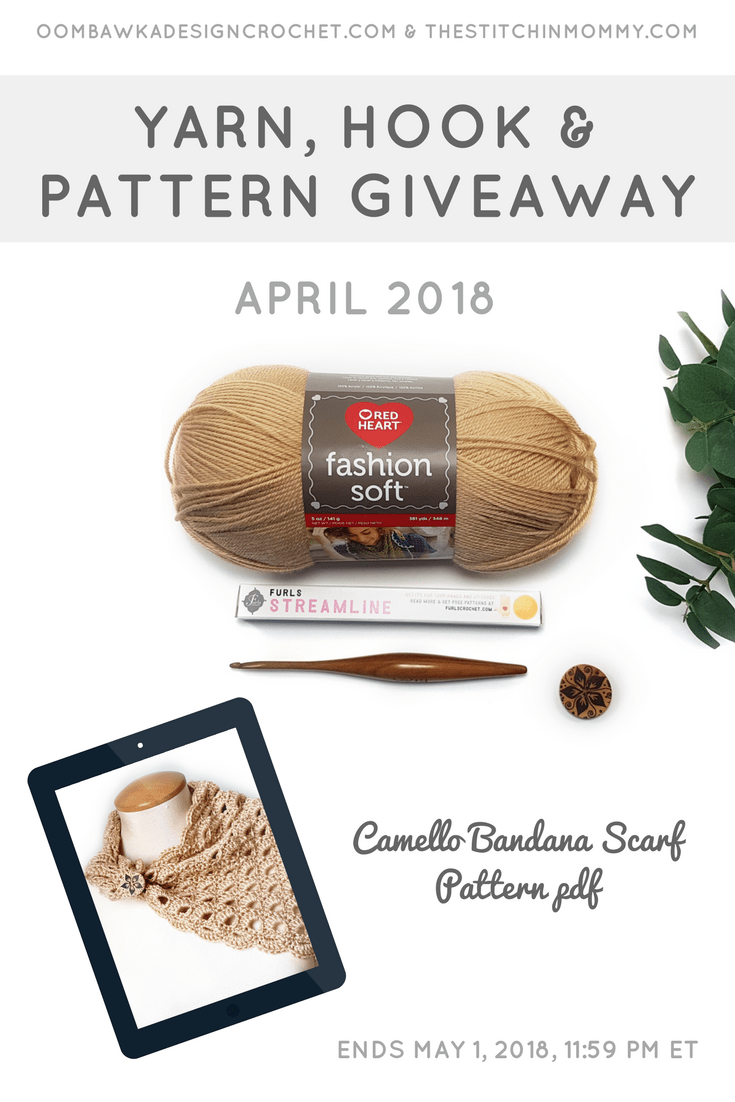 April Yarn Hook and Pattern Giveaway