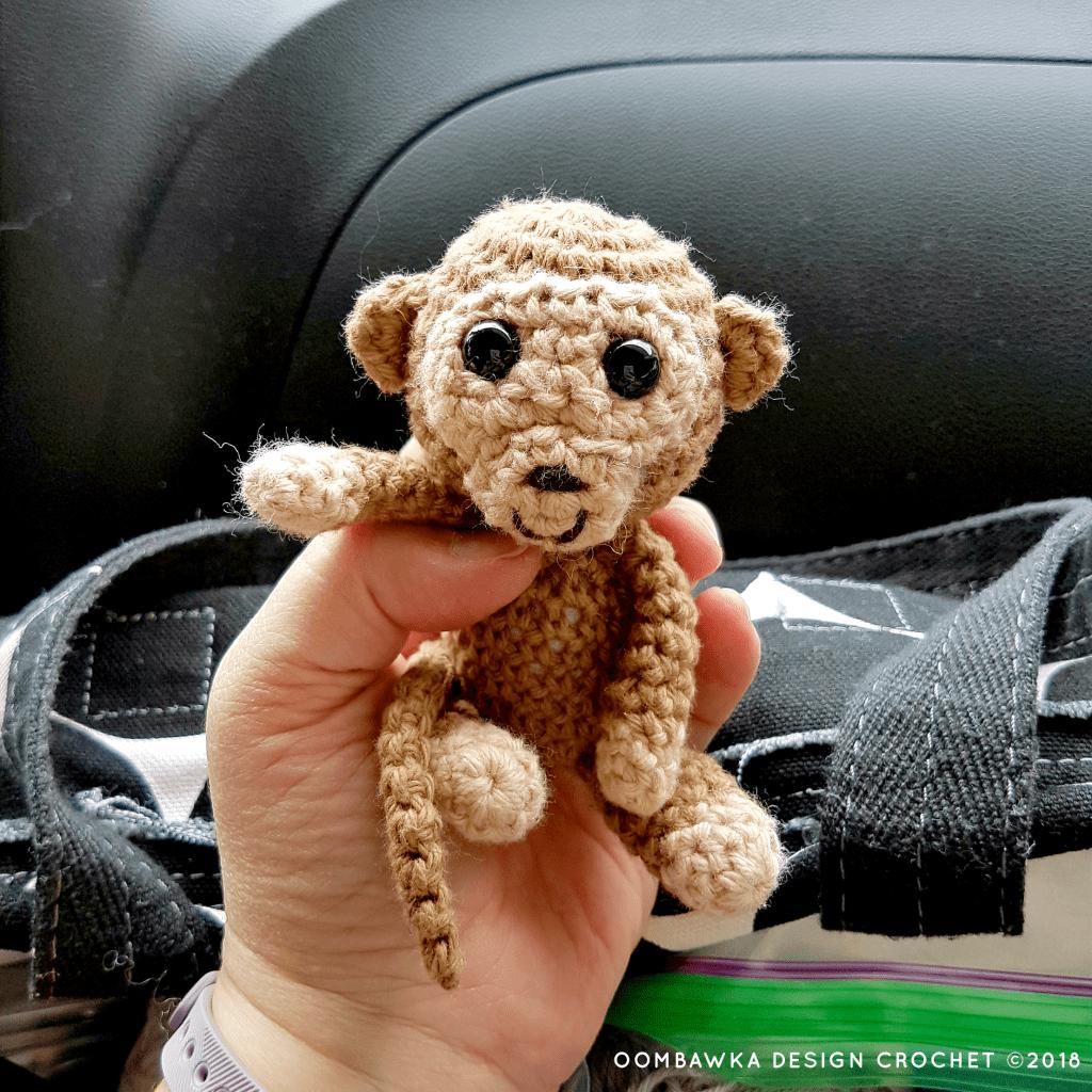 Baby Crochet Monkey Oombawka Design 2018