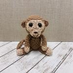 Baby Monkey Oombawka Design Crochet