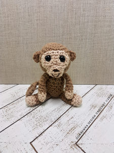 Baby Monkey Oombawka Design Crochet