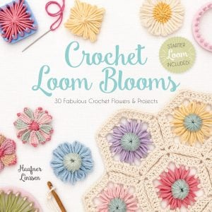 Crochet Loom Blooms by Haaner Linssen at Interweave, F+W Media