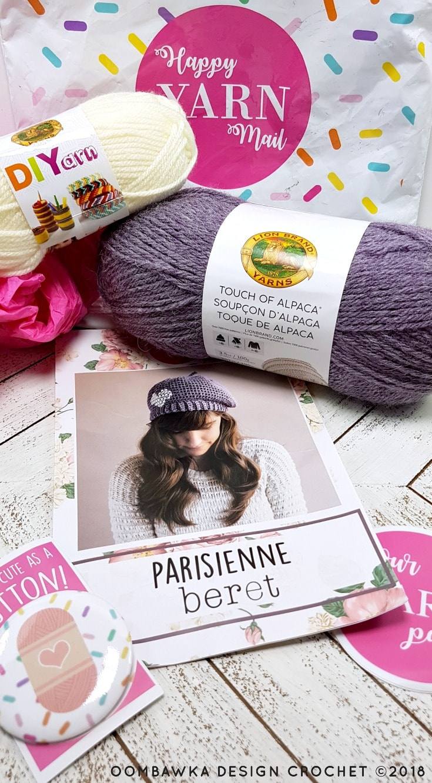 Happy Yarn Mail March 2018 Parisienne Beret