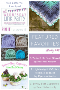 Wednesday Link Party 38 Featuring KatKatKatoen EyeLoveKnots SewHistorically