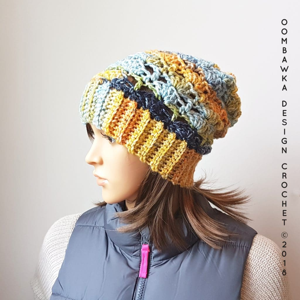 Cozy Hugs Hat Pattern. Oombawka Design Crochet Pattern.