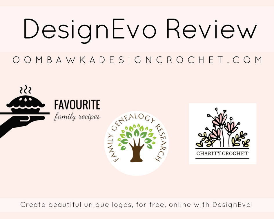 DesignEvo Review Oombawka Design Crochet