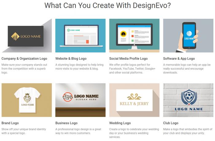 Free Online Logo Maker Create Custom Logo Designs DesignEvo