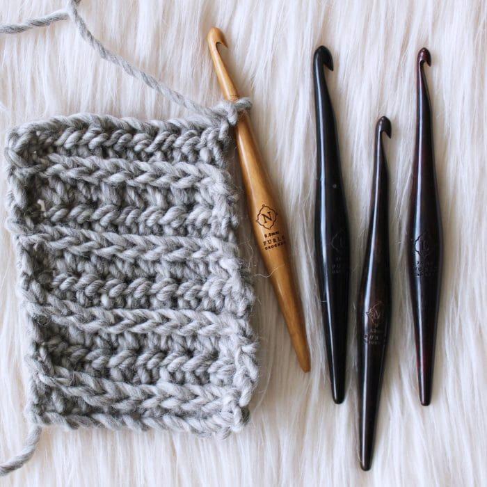 Wood-Crochet-Hook-Streamline-Furls-Ergonomic-Sizes L M N P Oombawka Design
