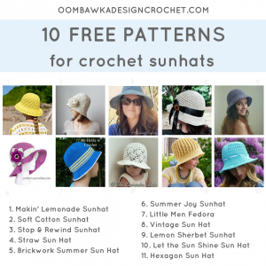 11 Sunhat Crochet Patterns