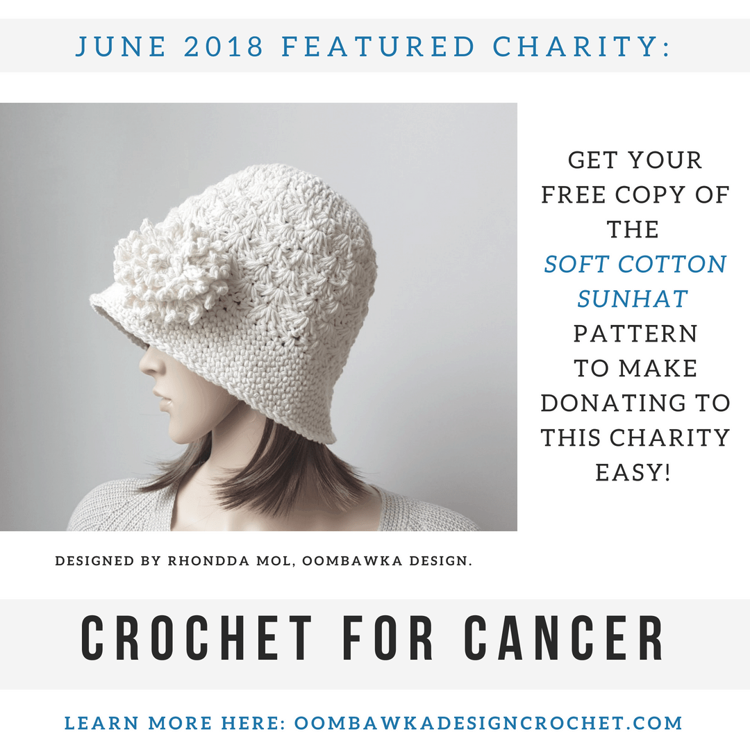 Featured Crochet Charity for June 2018 Oombawka Design FB