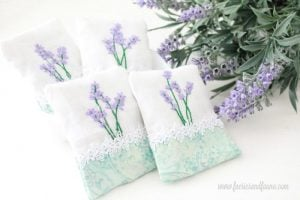 Featured at Wednesday Link Party 249: How to Make a Lavender DIY Sachet by Faeries and Fauna
