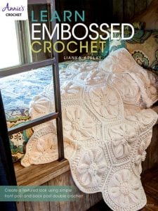 Learn Embossed Crochet Cover. Annie's Craft Store. Book Review by Oombawka Design Crochet