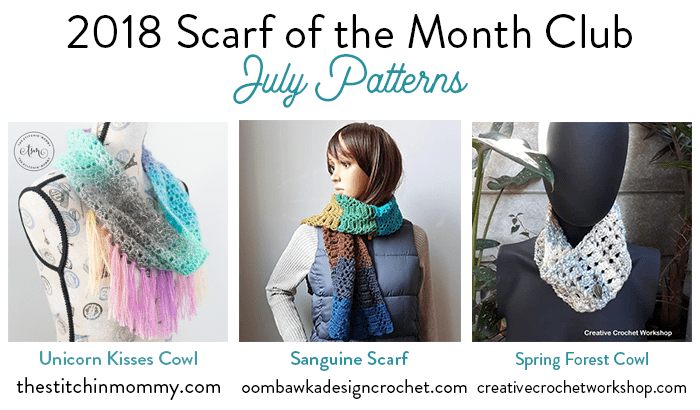 2018-Scarf-of-the-Month-Club-July-Patterns