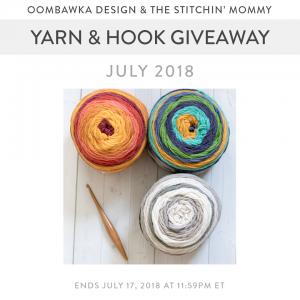 July Yarn and Hook Giveaway at Oombawka Design