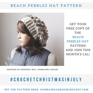 Beach Pebbles Hat Pattern