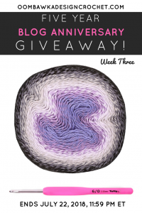 Scheepjes Whirl Dark Grape Squish Giveaway