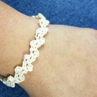 Lacy Bridal Party Bracelet by Rhondda Mol
