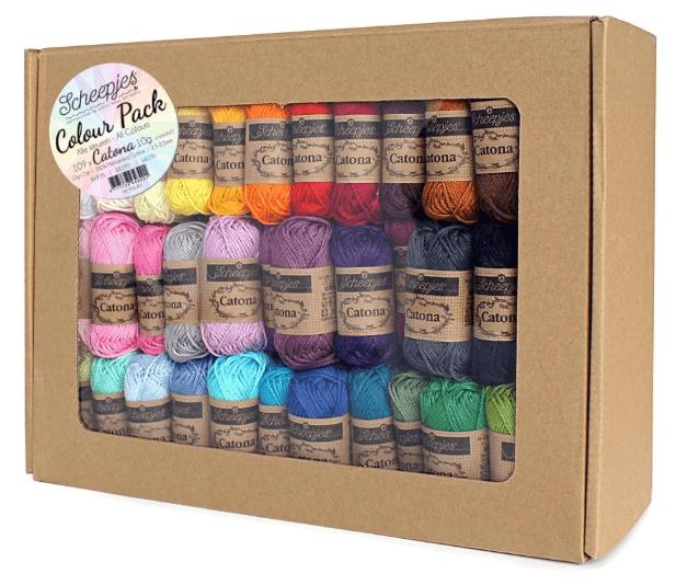 Scheepjes Catona 10g Colour Pack – Knotty House
