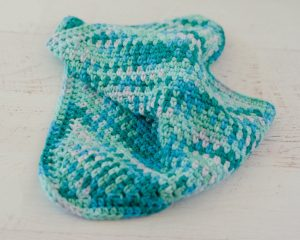 Seed Stitch Dishcloth Pattern by Crochet 365, Knit Too!
