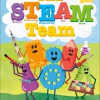 The Steam Team Cover image from Amazon. DK Canada. Book Review Oombawka Design Crochet