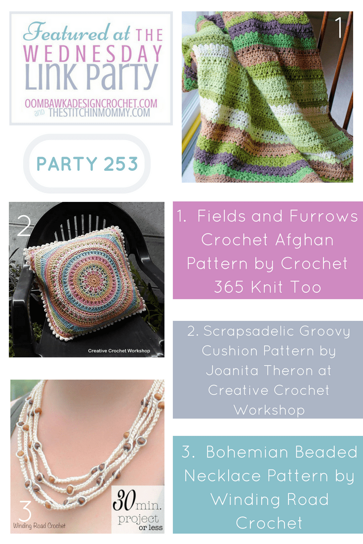 Wednesday Link Party 253 Featured Favorites. Party with Oombawka Design and The Stitchin Mommy pin