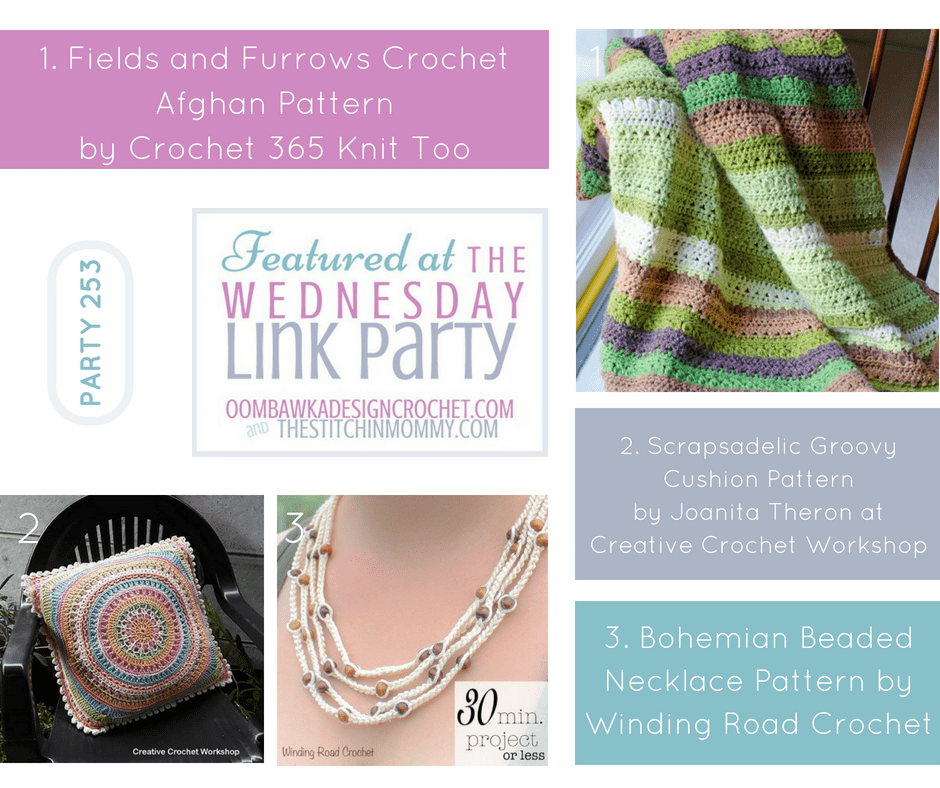 Wednesday Link Party 253 Featured Favorites. Party with Oombawka Design and The Stitchin Mommy