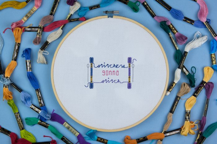 Stitchers Gonna Stitch. Improper Cross Stitch. Book Review Oombawka Design Crochet.