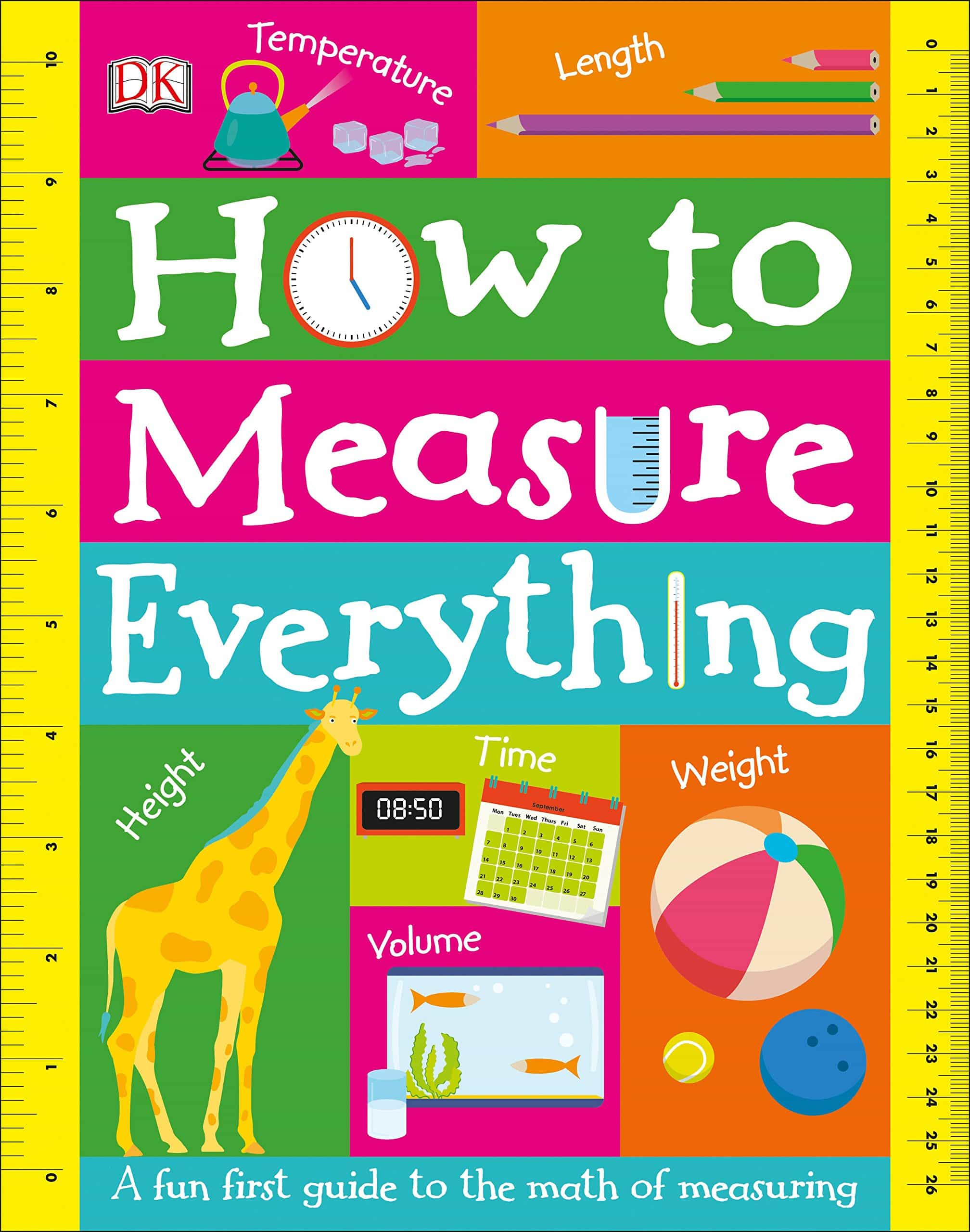How to Measure Everything. DK Canada. Image credit Amazon. Book Review Oombawka Design Crochet.