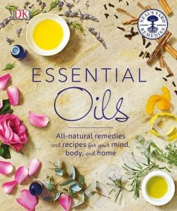 Cover Essential Oils. DK Canada. Image Credit Amazon. Book Review Oombawka Design Crochet