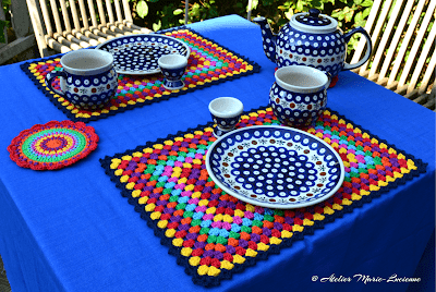 Bohemian Rhapsody Placemats Atelier Marie-Lucienne