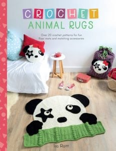 Crochet Animal Rugs. Sew and So. Ira Rott. Book Review by Oombawka Design Crochet