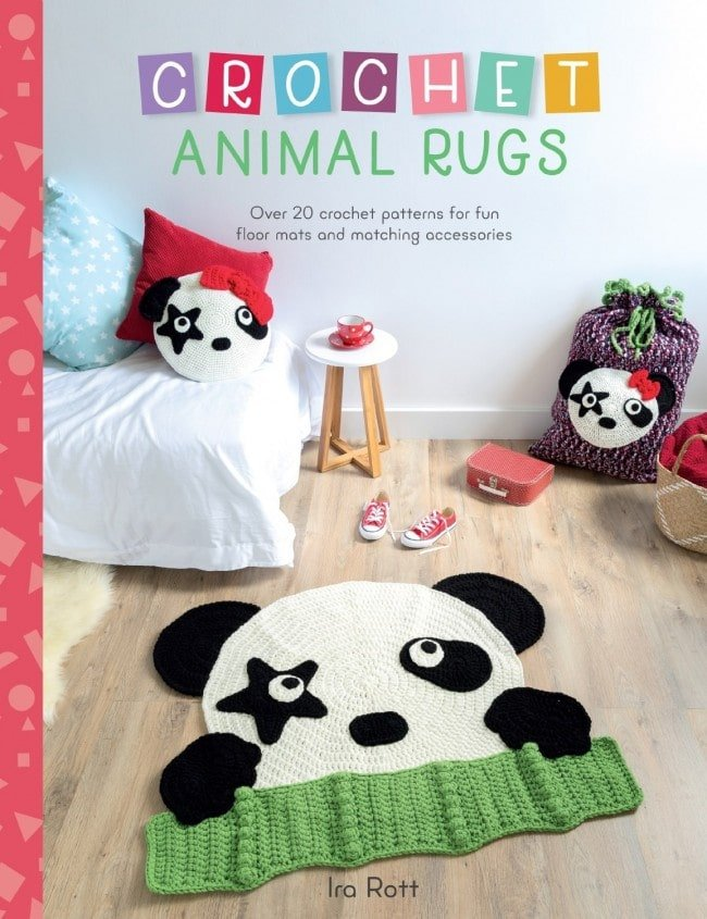 20 Crochet Patterns For Animal Rugs And Matching Accessories