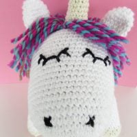 Eloise Unicorn Amigurumi Doll by Maria's Blue Crayon