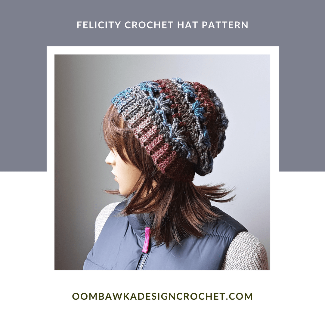 Felicity Hat Pattern from Oombawka Design Crochet