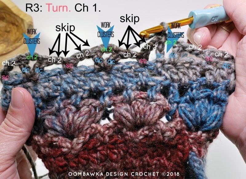 Felicity Hat Round 3 Oombawka Design Crochet