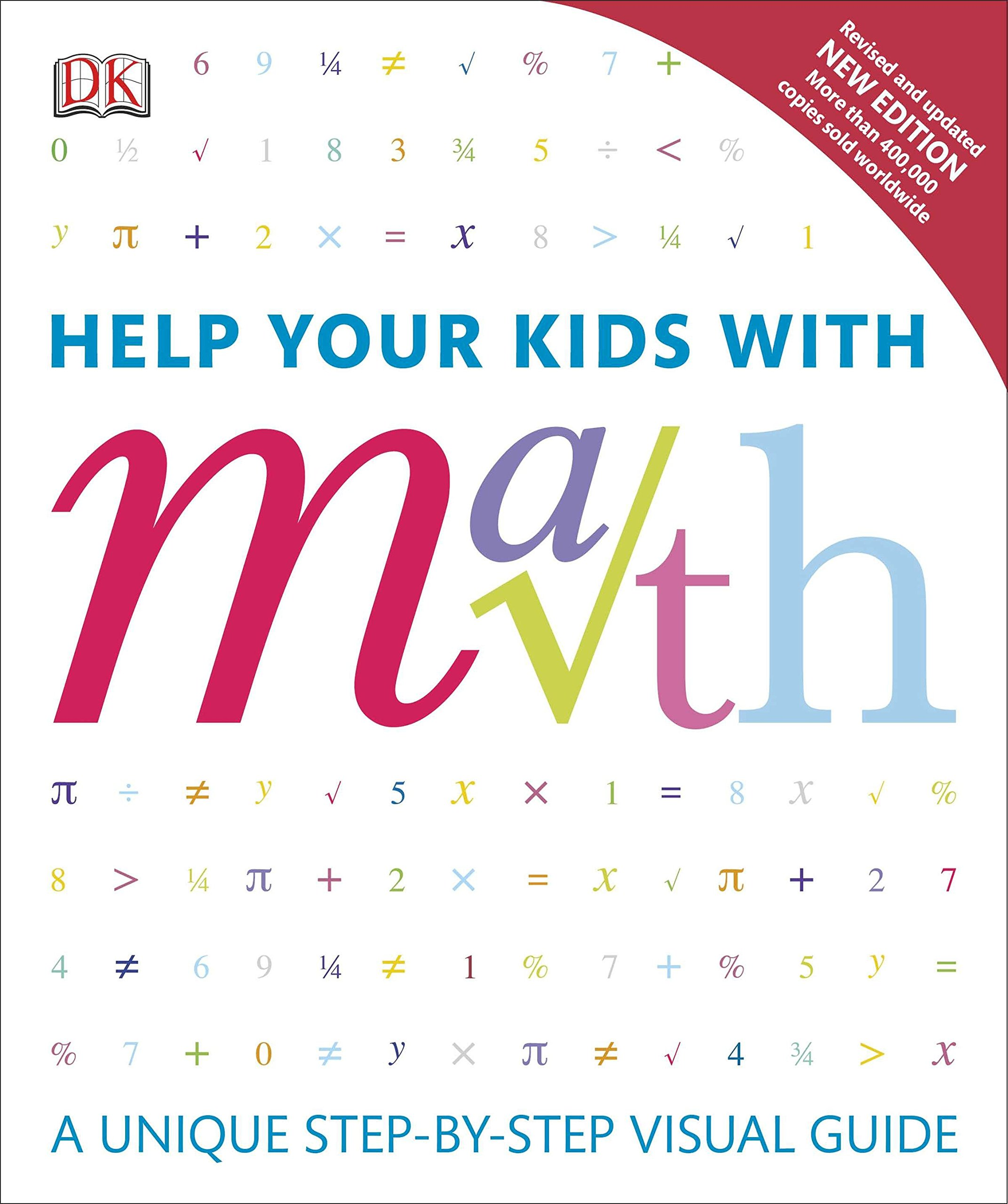 Cover Help Your Kids with Math. DK Canada. Image Credit Amazon. Book Review Oombawka Design