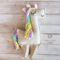 Ragdoll Unicorn by Spin a Yarn Crochet