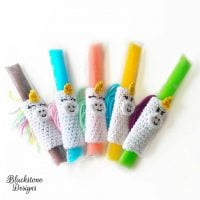 Unicorn Ice Pop Holders by Sonya Blackstone
