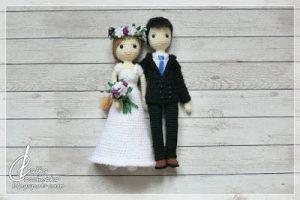 Wedding Dolls by Lalka Crochetka