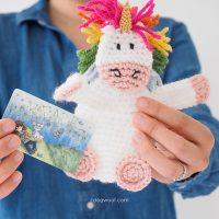 Unicorn Gift Card Holder by ChiWei Ranck