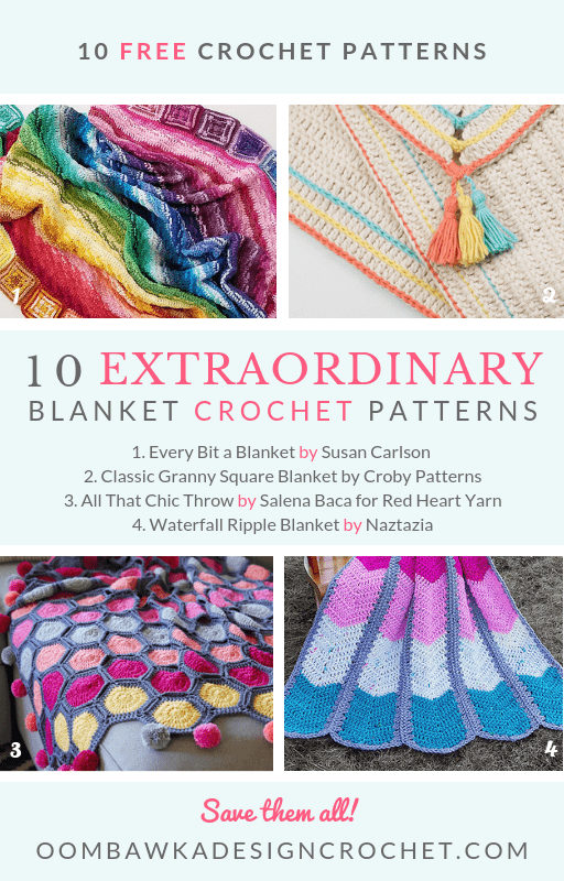 Get 10 Extraordinary Blanket Crochet Patterns Today! • Oombawka ...