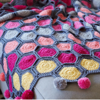 All That Chic Throw by Salena Baca for Red Heart Yarn