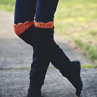 Boot Cuffs by Alessandra Hayden