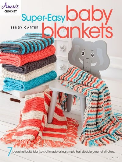 Super-Easy Baby Blankets. Annie's Craft Store. Book Review by Oombawka Design Crochet